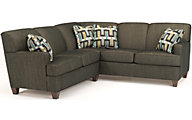 Flexsteel Dempsey Gray 2-Piece Sectional