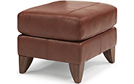 Flexsteel Jupiter Copper Ottoman