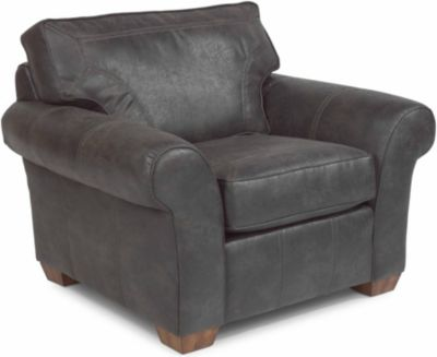 Flexsteel Vail Gray Accent Chair