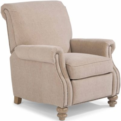 Flexsteel Bay Bridge Cream Power Recliner