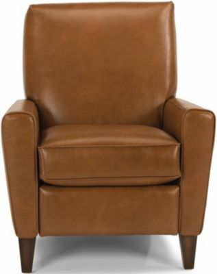 Flexsteel Digby 100% Leather Copper Power Recliner
