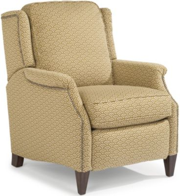 Flexsteel Zevon Cream Power Recliner