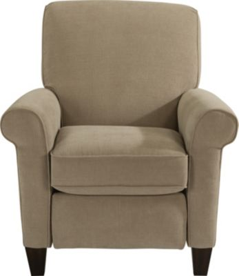 Flexsteel Dana Cream Press-Back Recliner