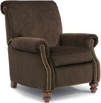 Flexsteel Bay Bridge Brown Power Recliner