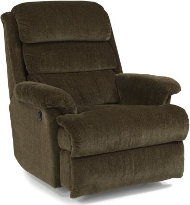 Flexsteel Yukon Brown Power Wall Recliner
