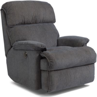 Flexsteel Geneva Blue Power Wall Recliner