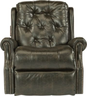 Flexsteel Davidson Blue Rocker Recliner
