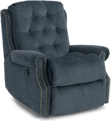 Flexsteel Davidson Blue Power Wall Recliner