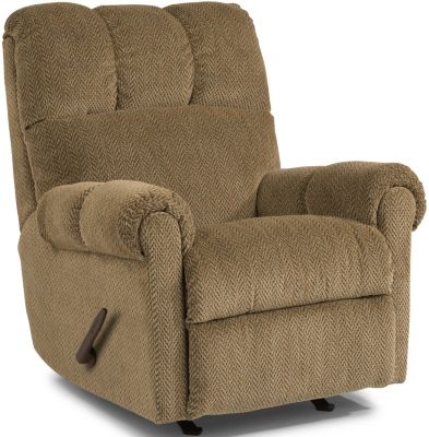 Flexsteel McGee Tan Rocker Recliner