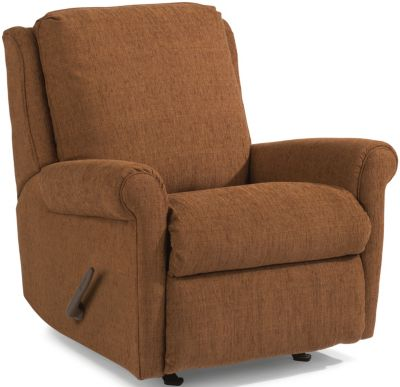 Flexsteel Macy Copper Rocker Recliner
