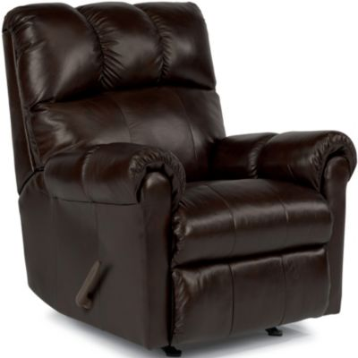 Flexsteel McGee Leather Wall Recliner