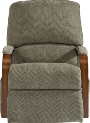 Flexsteel Woodlawn Gray Rocker Recliner