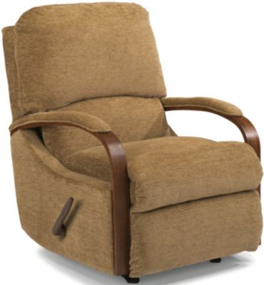 Flexsteel Woodlawn Tan Wall Recliner