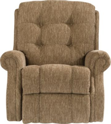 Flexsteel Mackenzi Tan Power Rocker Recliner