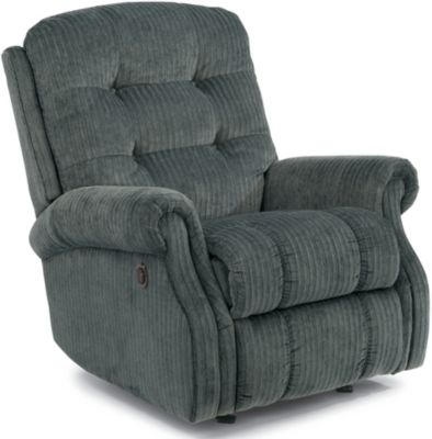 Flexsteel Mackenzi Blue Power Wall Recliner