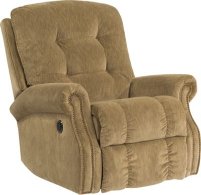 Flexsteel Mackenzi Beige Power Rocker Recliner