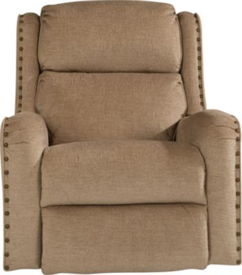 Flexsteel Cameron Cream Power Rocker Recliner