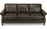 Flexsteel Daltry 100% Leather Sofa