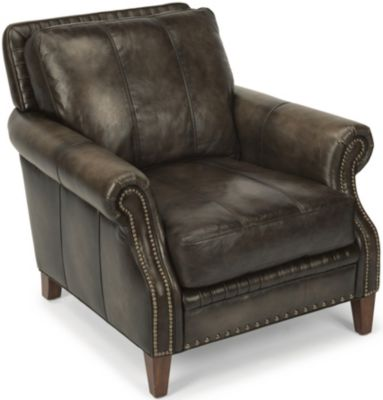 Flexsteel Daltry 100% Leather Chair