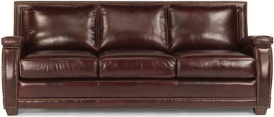 Raleigh 100% Leather Sofa