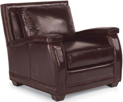 Raleigh 100% Leather Chair
