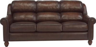 Flexsteel Wayne 100% Leather Sofa