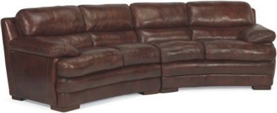 Dylan 100% Leather Espresso Sofa