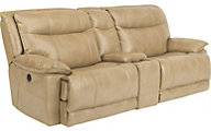 Flexsteel Bliss Power Reclining Console Loveseat