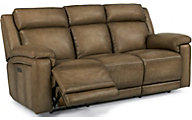 Flexsteel Brody Leather Power Reclining Sofa