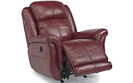 Flexsteel Brookings 100% Leather Power Recliner