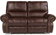 Flexsteel Carlton Power Reclining Loveseat