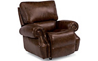 Flexsteel Colton Leather Power Glider Recliner