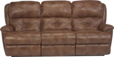 Flexsteel Cruise Control 100% Leather Power Reclining Sofa