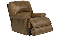 Flexsteel Dylan 100% Leather Power Wall Recliner