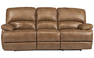 Flexsteel Dylan 100% Leather Power Reclining Sofa