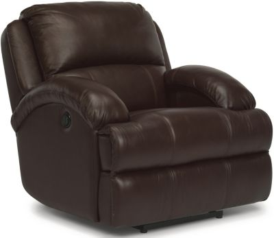 Flexsteel Fast Lane Leather Power Recliner