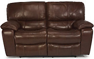 Flexsteel Grandview Leather Power Reclining Loveseat