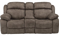 Flexsteel Como Power Reclining Console Loveseat