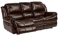Flexsteel Capitol Leather Power Reclining Sofa