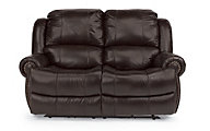 Flexsteel Capitol Leather Power Reclining Loveseat