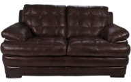 Flexsteel Jacob 100% Leather Loveseat