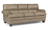 Flexsteel Leigh 100% Leather Sofa