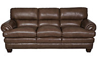 Flexsteel Leighton 100% Leather Sofa