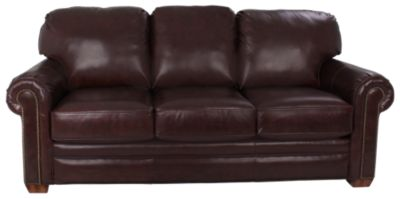 Flexsteel Harrison 100% Leather Sofa