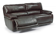 Flexsteel Hermosa Leather Power Reclining Loveseat