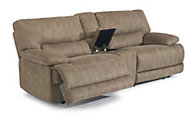 Flexsteel Delia 3 Piece Power Reclining Loveseat w/Console