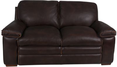 Flexsteel Penthouse 100% Leather Loveseat