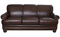 Flexsteel Bay Bridge 100% Leather Sofa