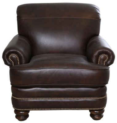 Flexsteel Bay Bridge 100 Leather Chair Homemakers Furniture