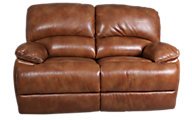 Flexsteel Dylan 100% Leather Reclining Loveseat